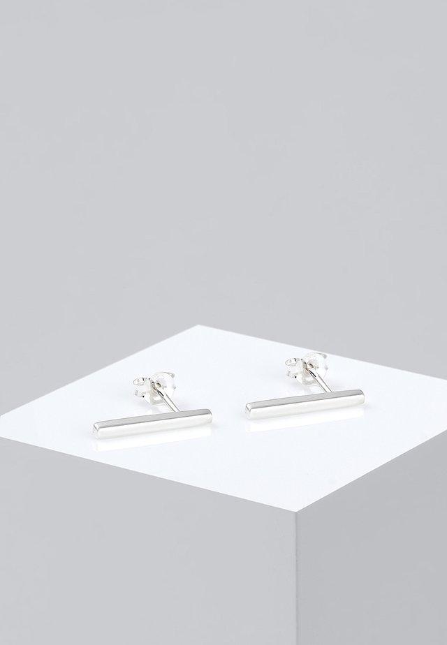 GEO MINIMAL   - Ohrringe - silver-colored