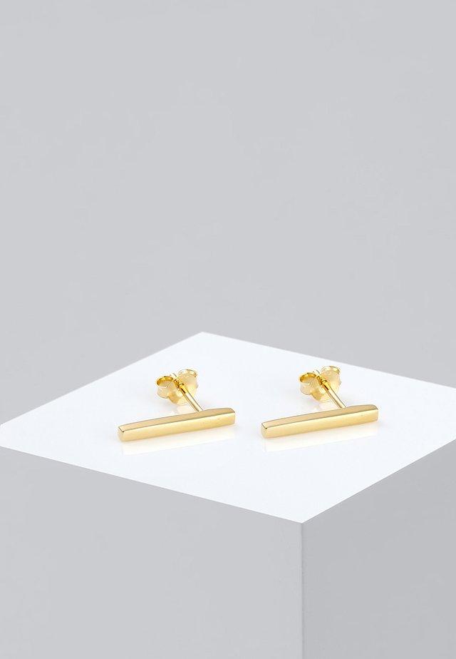 GEO MINIMAL   - Ohrringe - gold-colored