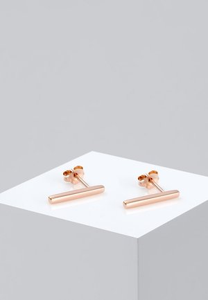 GEO MINIMAL   - Boucles d'oreilles - rosegold-coloured