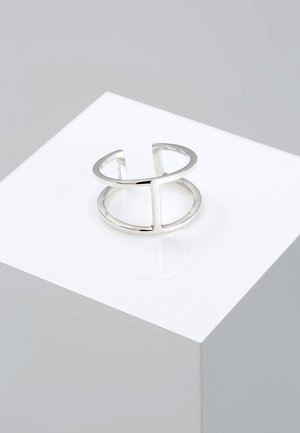 GEO - Ring - silver-colored