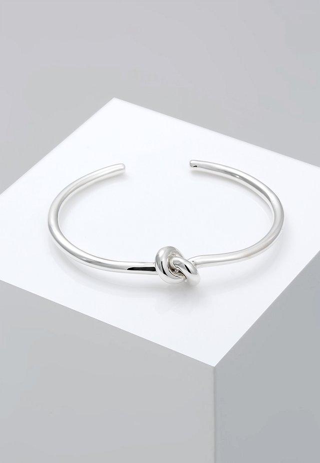 KNOTEN - Bracelet - silver-coloured