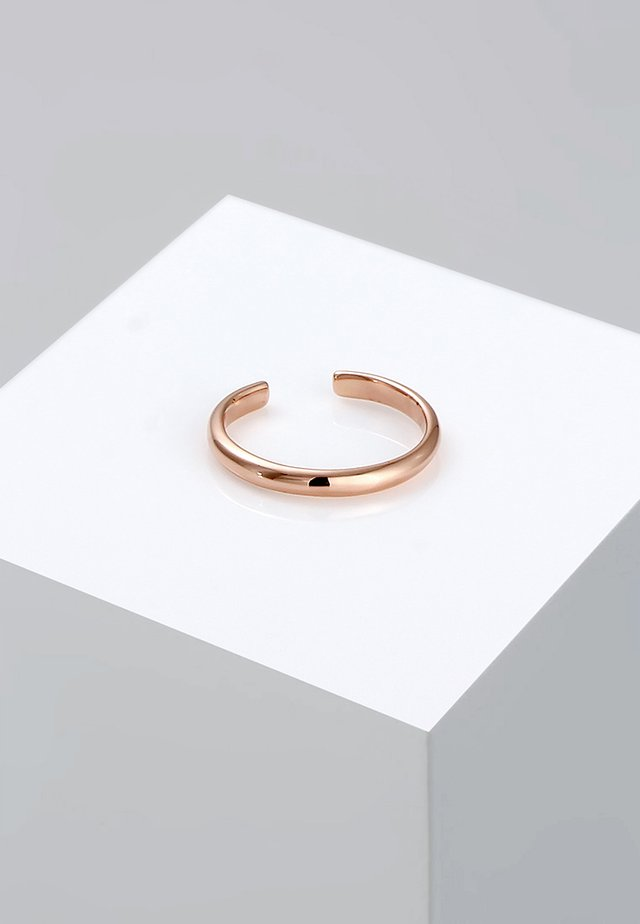 MIDI Knuckle Minimal Trend   - Ringe - roségold-coloured