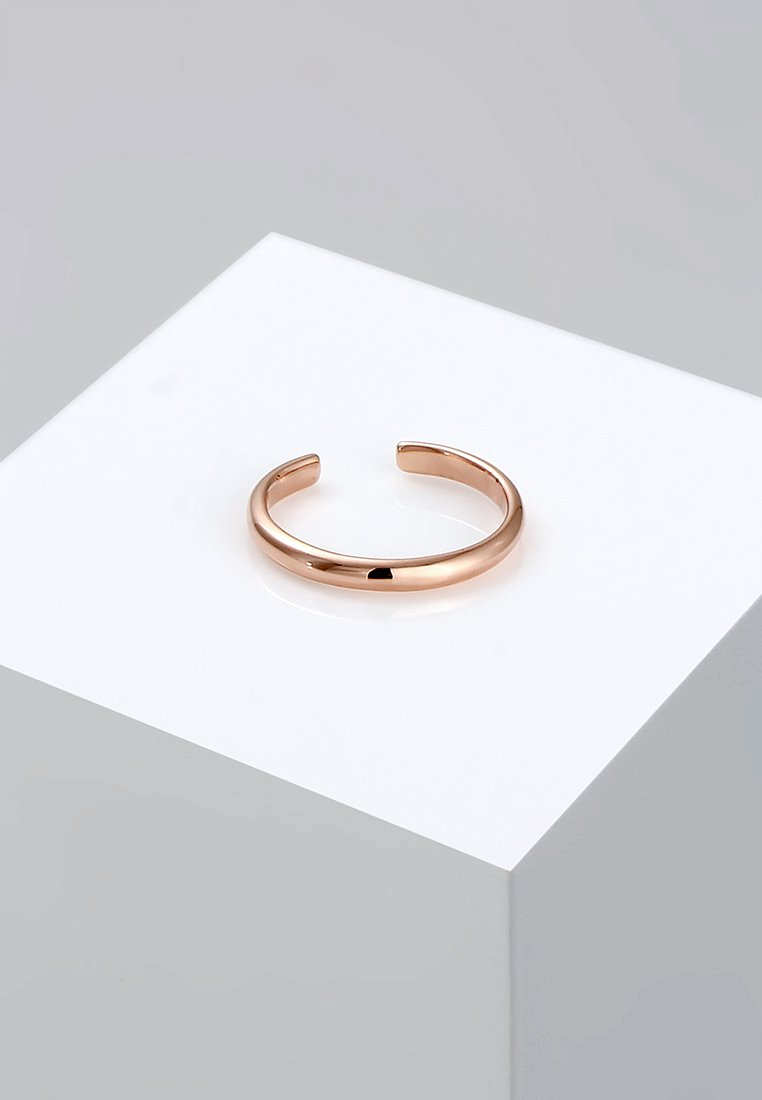 Elli - MIDI Knuckle Minimal Trend   - Anello - roségold-coloured