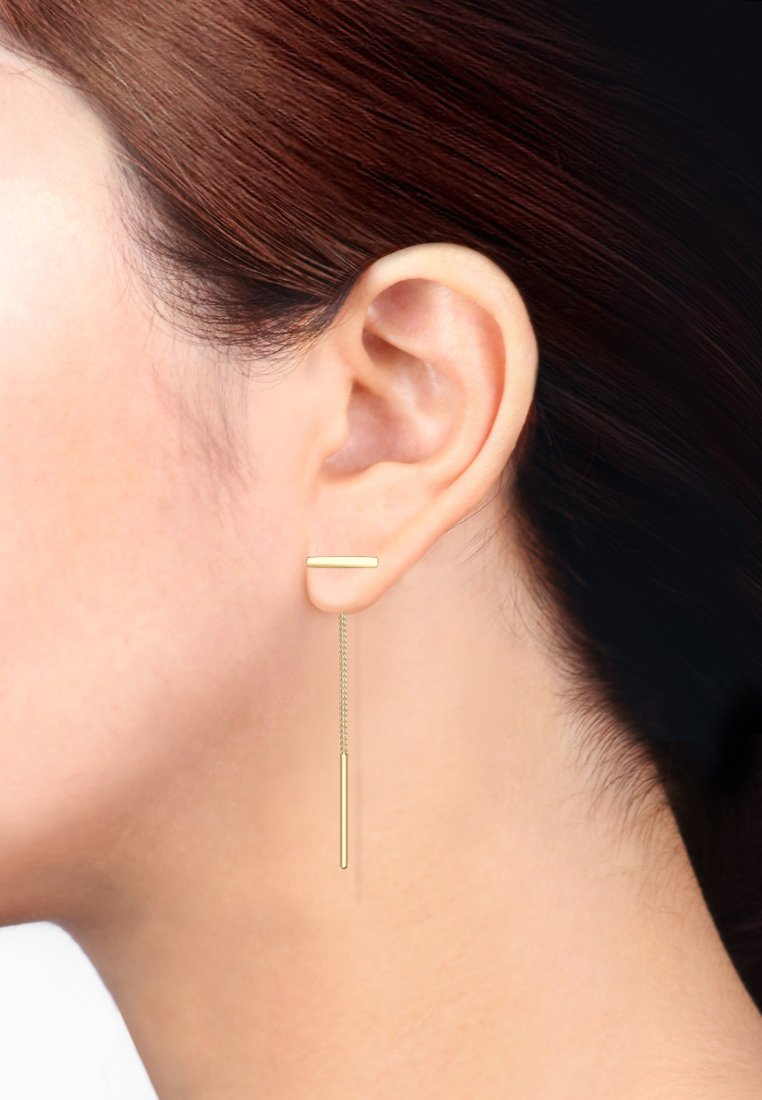 Elli - STIFT MINIMALISMUS  - Earrings - gold-coloured