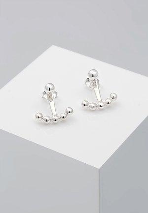 EAR JACKET - Örhänge - silver-coloured