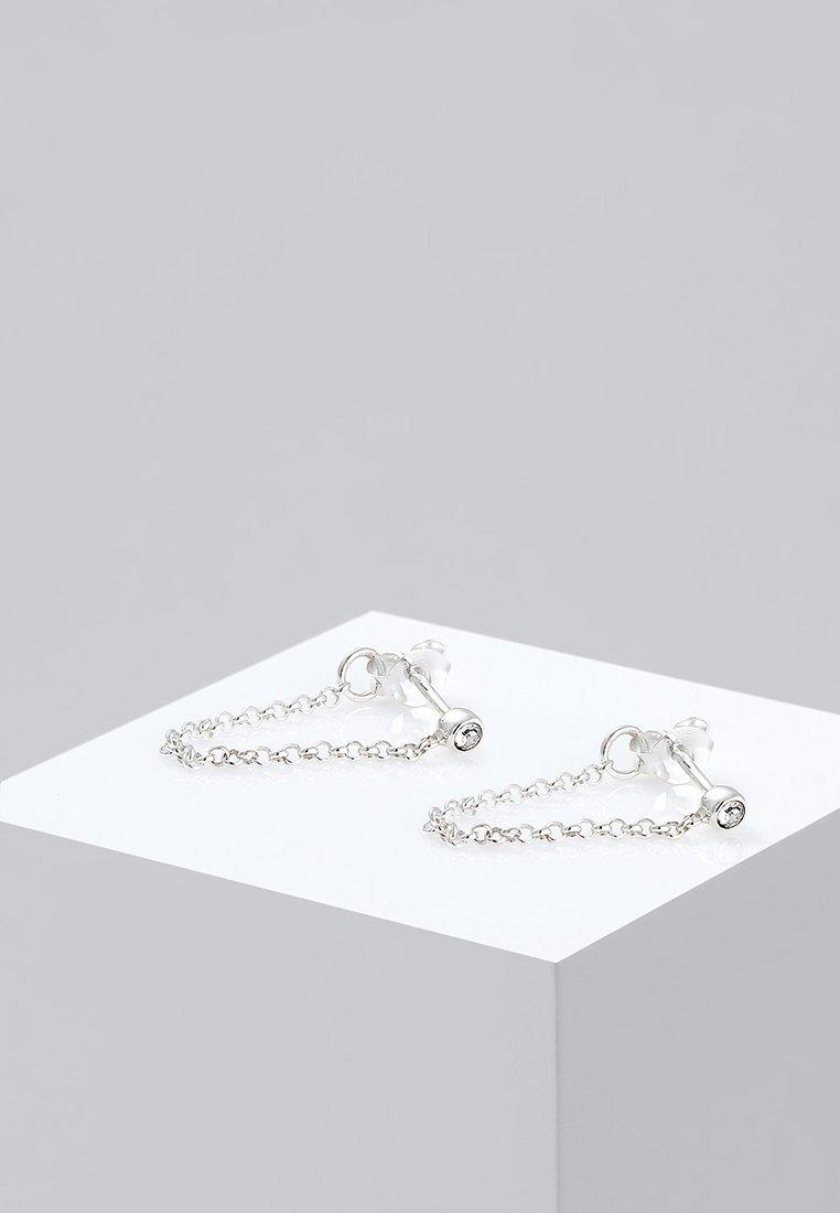Elli - TREND GEO - Earrings - silver-coloured