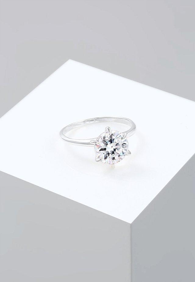 VERLOBUNG ELEGANT - Ringe - silver-coloured