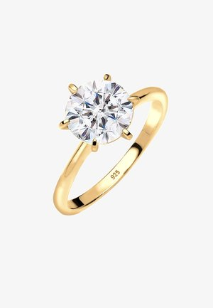VERLOBUNG ELEGANT - Ringar - gold-coloured/white