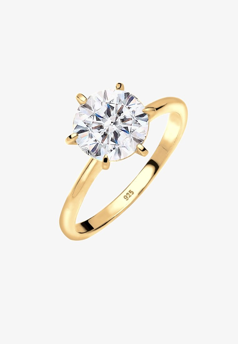 Elli - Ringar - gold-coloured/white
