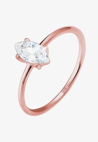 Elli - MARQUISE - Anello - rosegold-coloured/white - 2