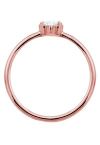 Elli - MARQUISE - Anello - rosegold-coloured/white - 4