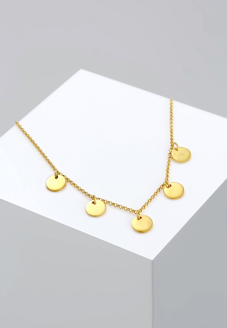 Elli - PLÄTTCHEN - Necklace - gold-coloured