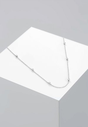Basic Kugeln - Collier - silver-coloured