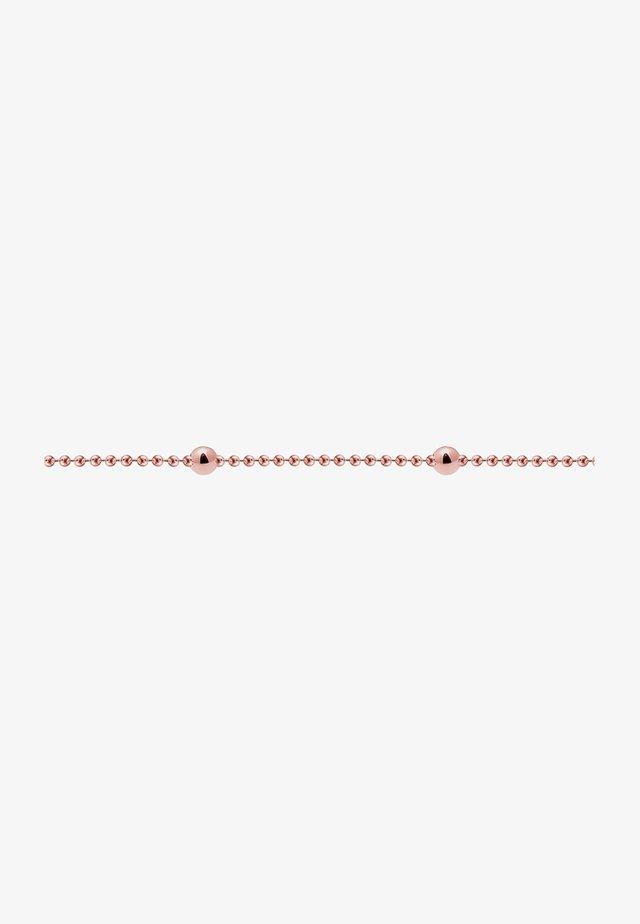 Basic Kugeln - Necklace - rosegold-coloured