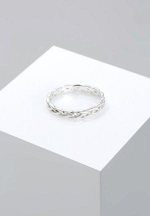 Unendlich Knoten - Ringe - silver-coloured