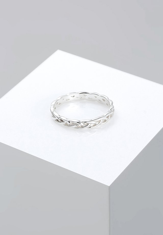 Unendlich Knoten - Ring - silver-coloured