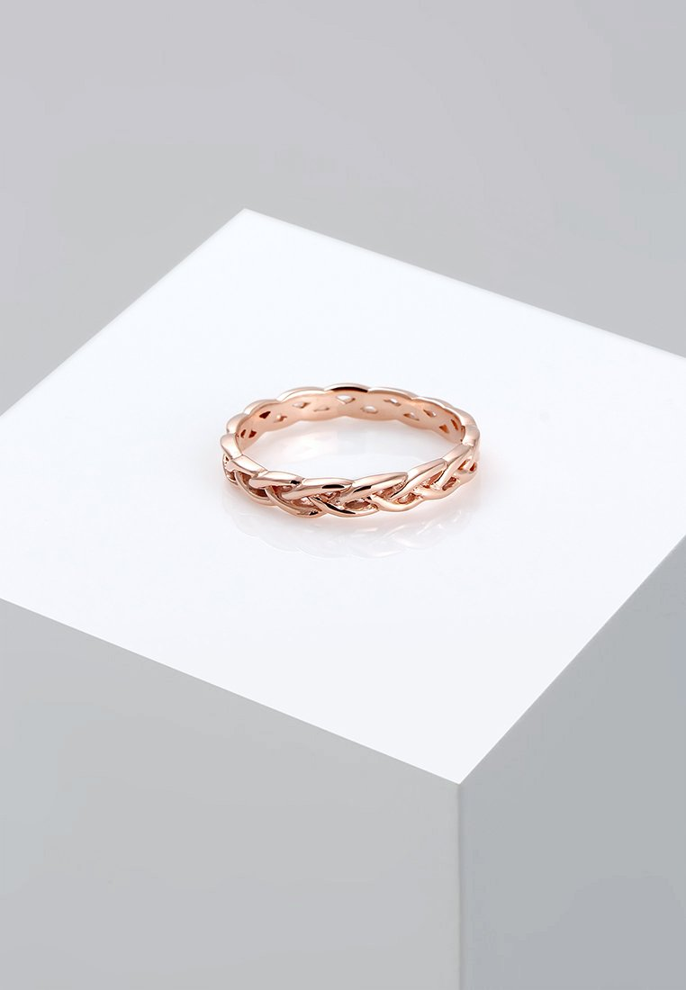Elli - Unendlich Knoten - Ring - rosegold-coloured