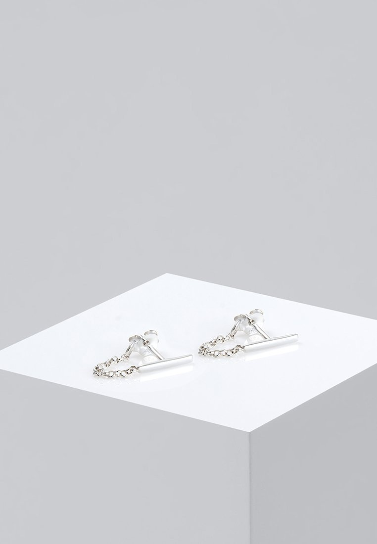 Elli - Geo Basic - Örhänge - silver- coloured