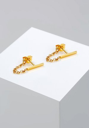 Geo Basic - Earrings - gold- coloured