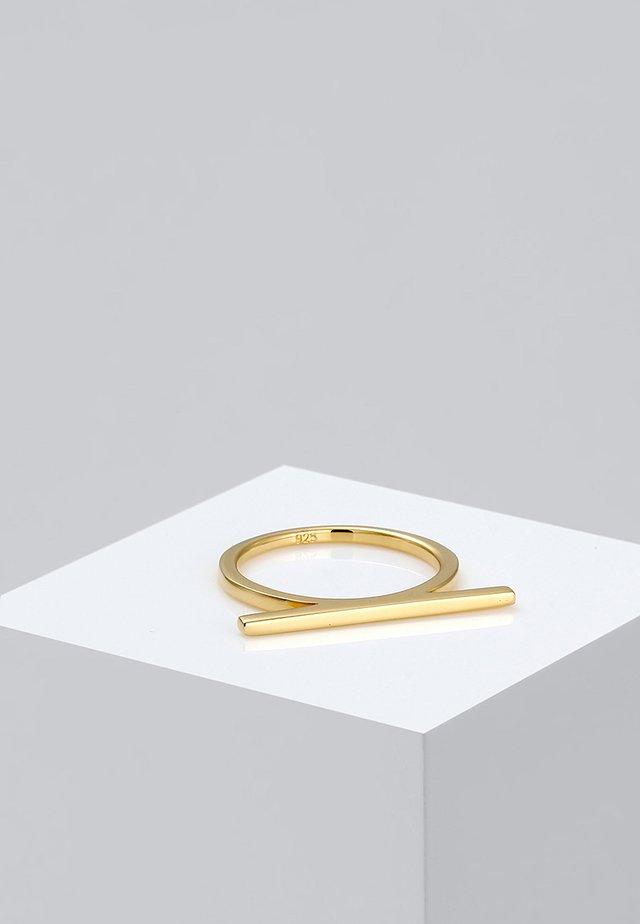 MINIMAL - Pierścionek - gold-coloured