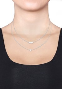 Elli - PLÄTTCHEN - Ketting - silver-coloured - 1
