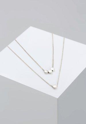 PLÄTTCHEN - Kaulakoru - silver-coloured