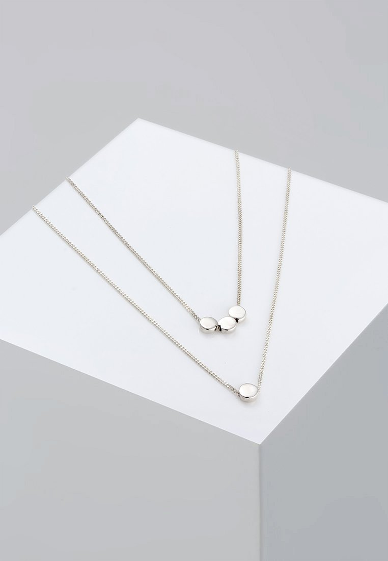 Elli - PLÄTTCHEN - Ketting - silver-coloured