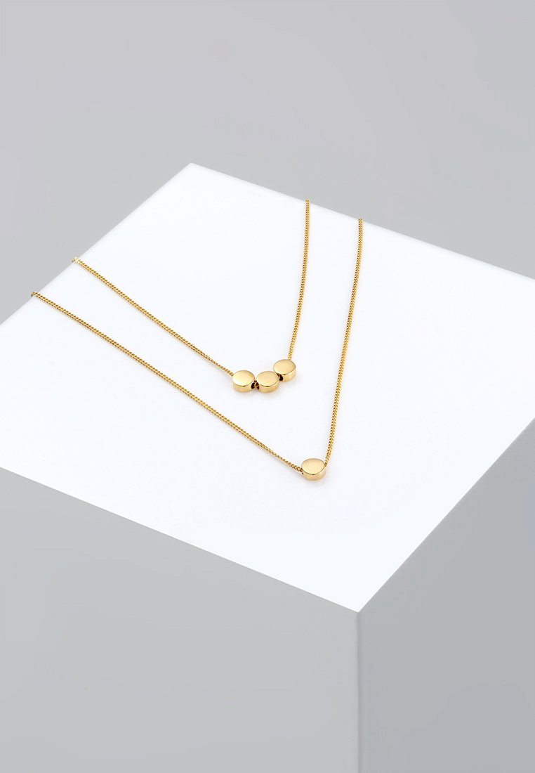 Elli - PLÄTTCHEN - Ketting - gold-coloured