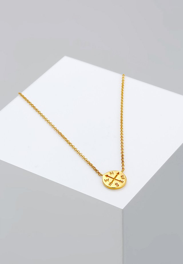 KOMPASS - Ketting - gold-coloured