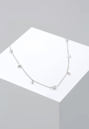 STERNE - Ketting - silver-coloured/white