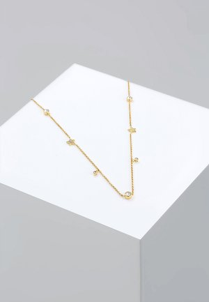 STERNE - Collana - gold-coloured/white