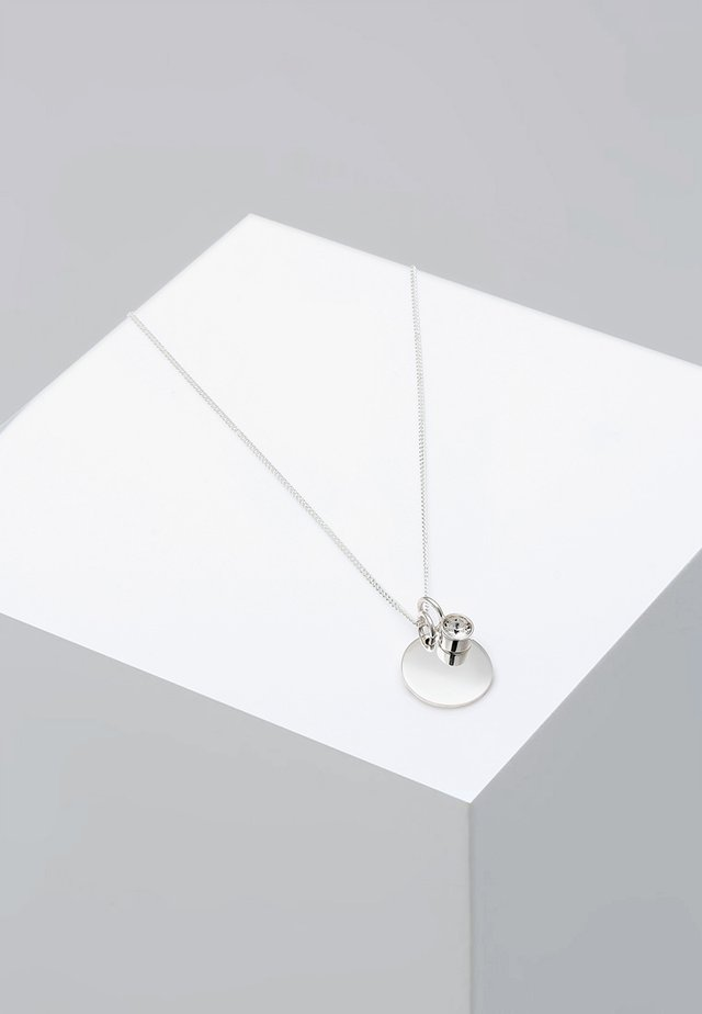 GEBURTSSTEIN - Ketting - silver-coloured/white