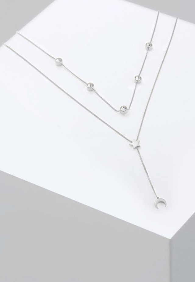 MOND - Ketting - silver coloured