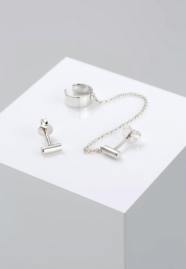 Elli - EARCUFF  - Earrings - silver-coloured