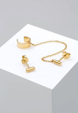 EARCUFF  - Earrings - gold-coloured