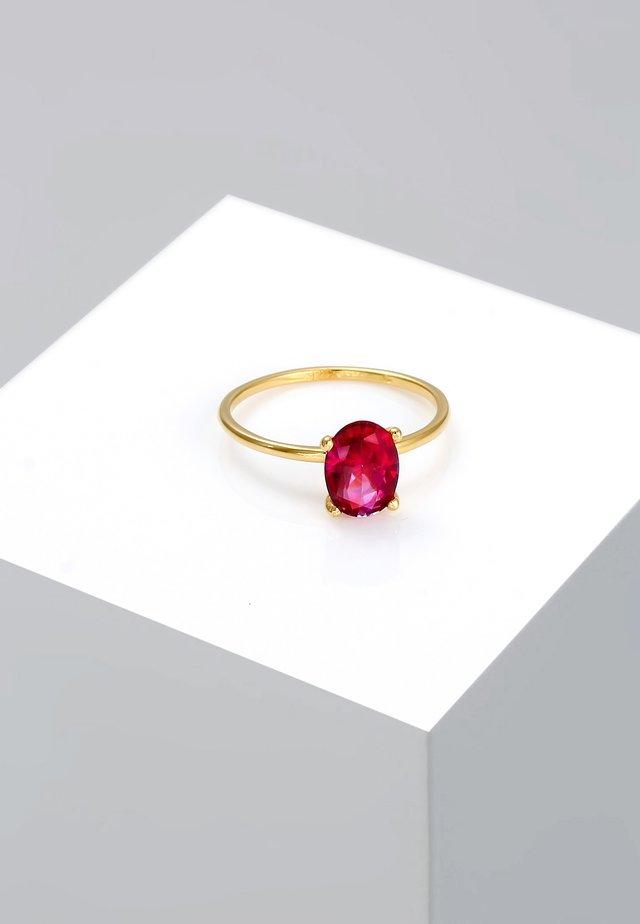 GEMSTONES  - Ring - gold-coloured