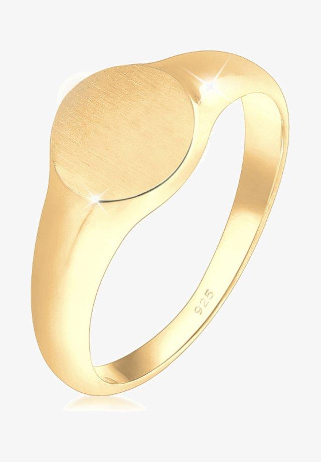 SIEGELRING ROYAL MATT - Ringar - gold-coloured