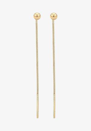 GEO KUGEL - Oorbellen - gold-coloured