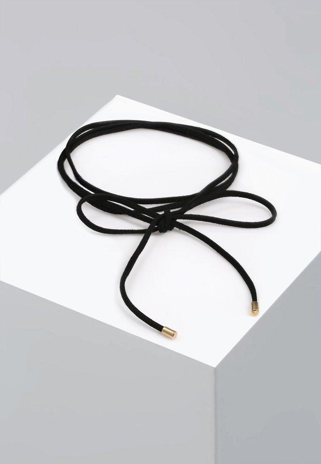 CHOKER SCHLEIFE - Halsband - gold