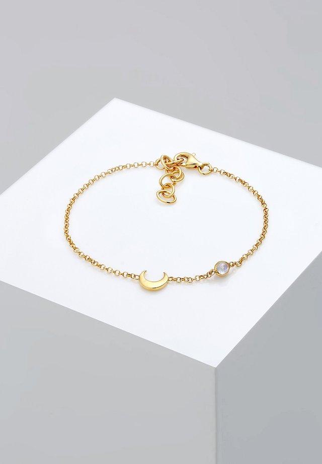 HALBMOND  - Armband - gold-coloured
