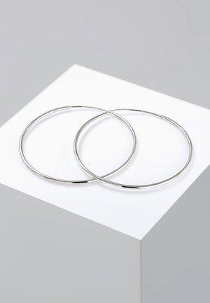 CREOLEN BASIC KLASSISCH  - Oorbellen - silver-coloured
