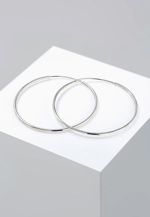 CREOLEN BASIC KLASSISCH  - Ohrringe - silver-coloured