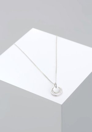 KREIS RUND GEO - Necklace - silver-coloured