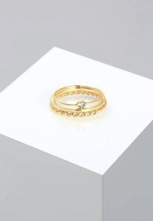 Swarovski® crystal  - Ring - gold coloured