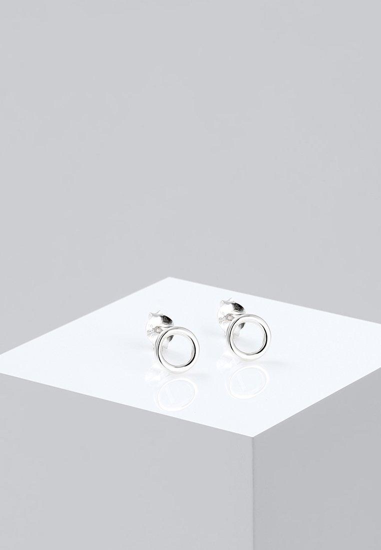 Elli - KREIS RUND  - Örhänge - silver-coloured