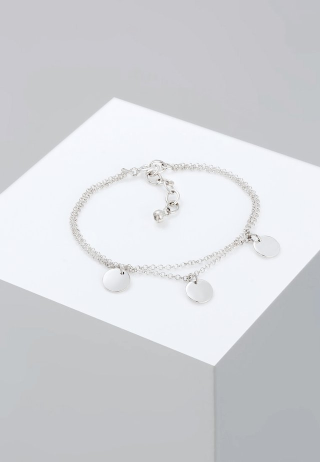 PLÄTTCHEN - Armband - silver-coloured