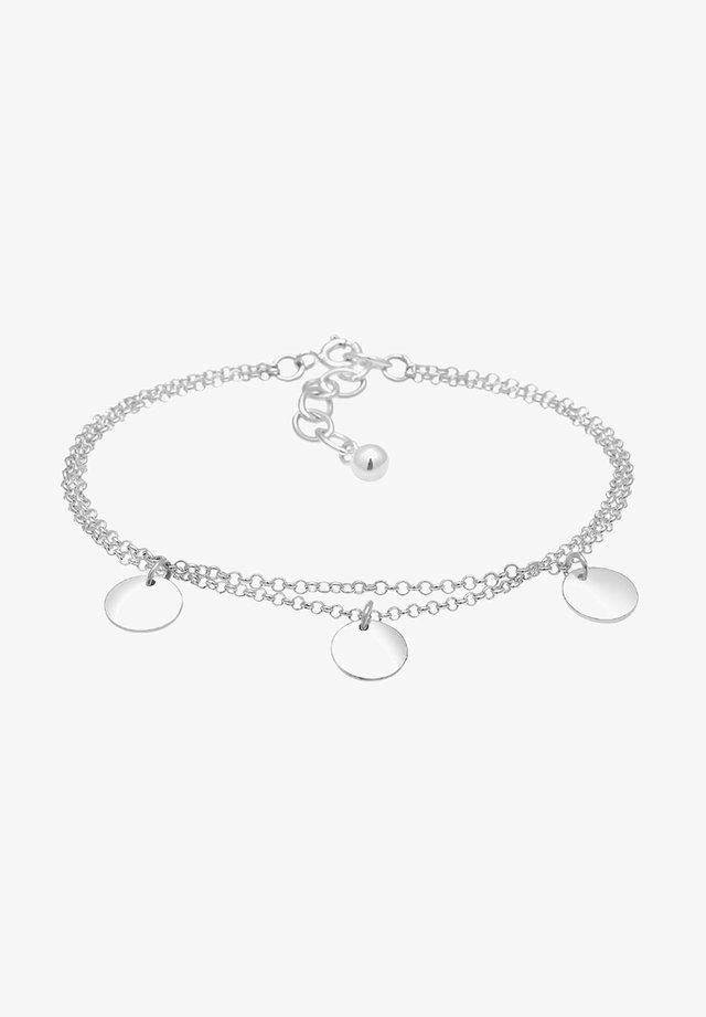 PLÄTTCHEN - Bracelet - silver-coloured