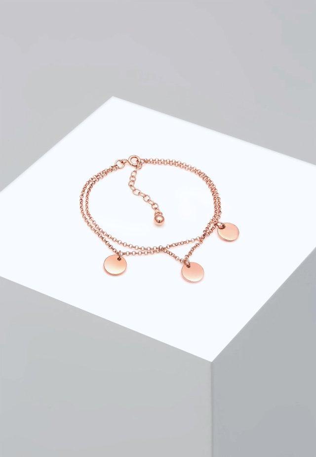 PLÄTTCHEN - Bracelet - roségold-coloured
