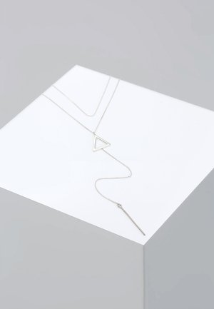 DREIECK CHOKER - Kaulakoru - silver-coloured