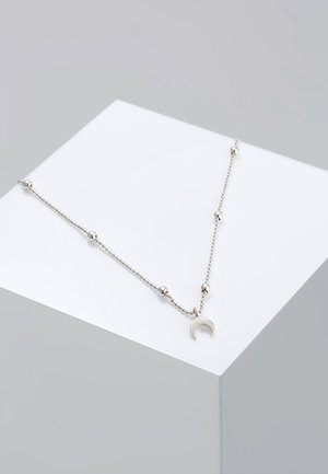 CHOKER ASTRO KUGEL HALBMOND  - Collier - silver-coloured